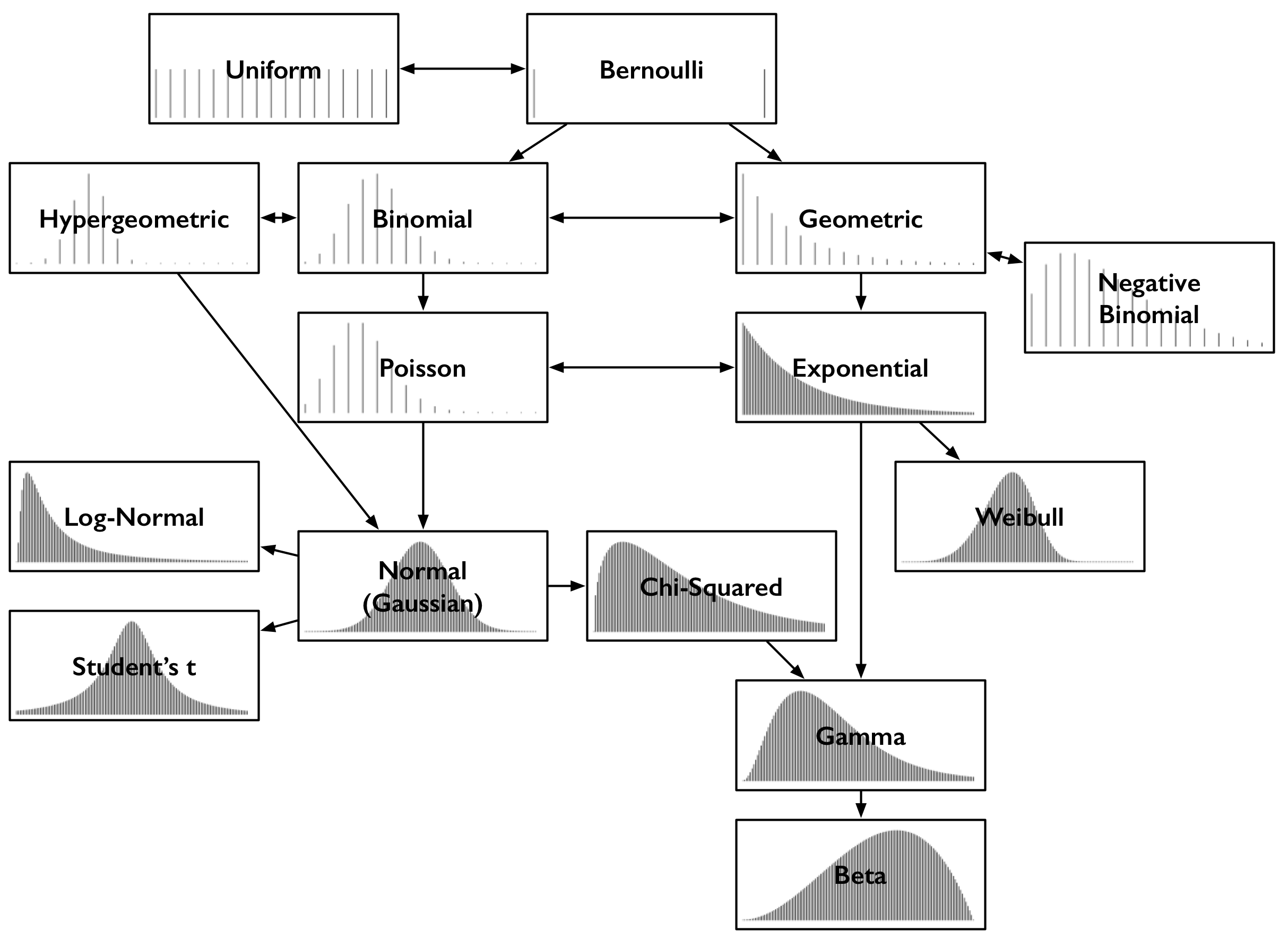 common probability distributions