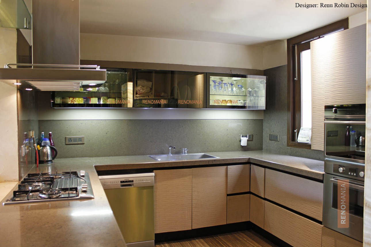 Amazingly Clever Modern Kitchen Design By Renomania Medium