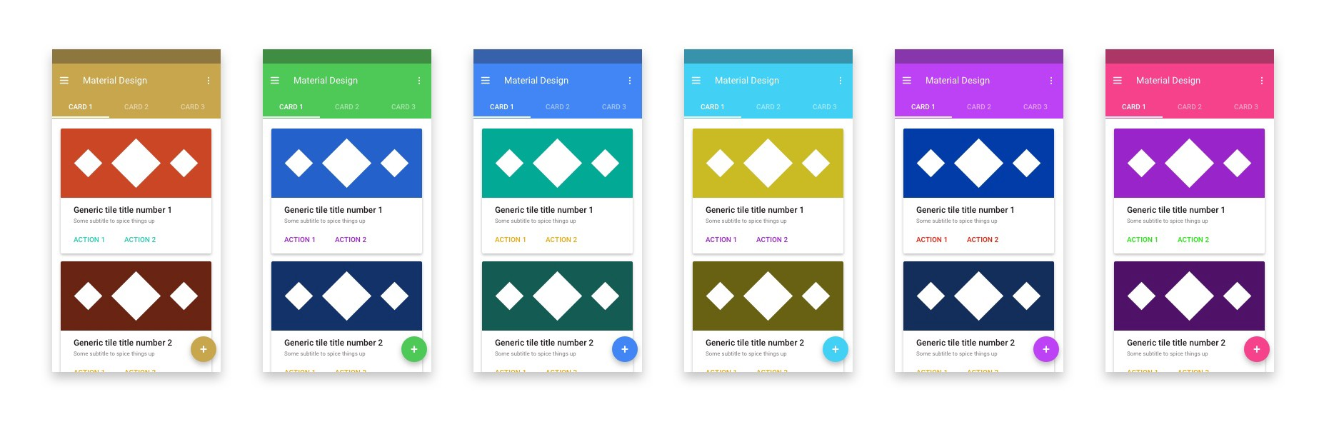 material design apps all look the same