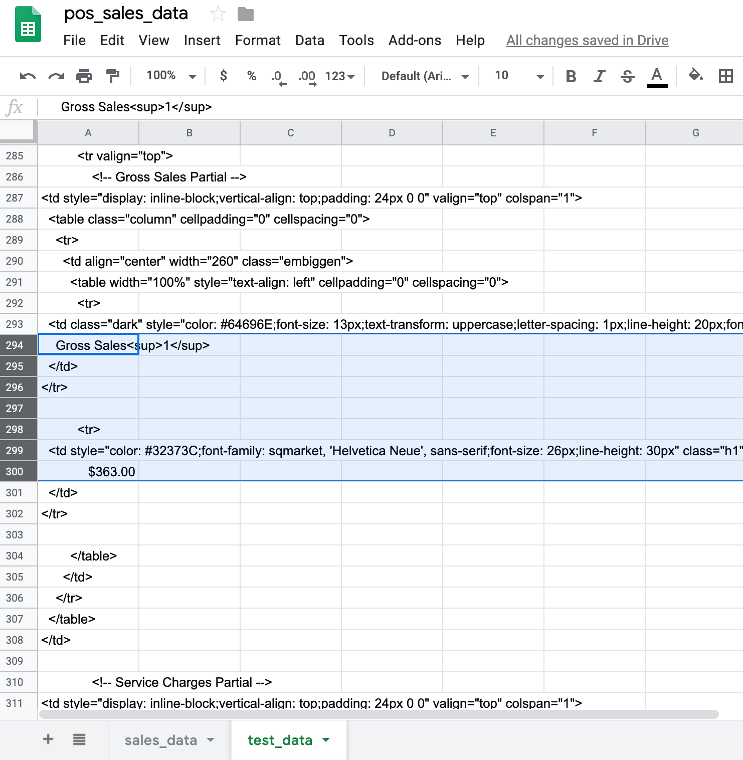 Automating Workflows Gt Pos Data To Sheets Using An