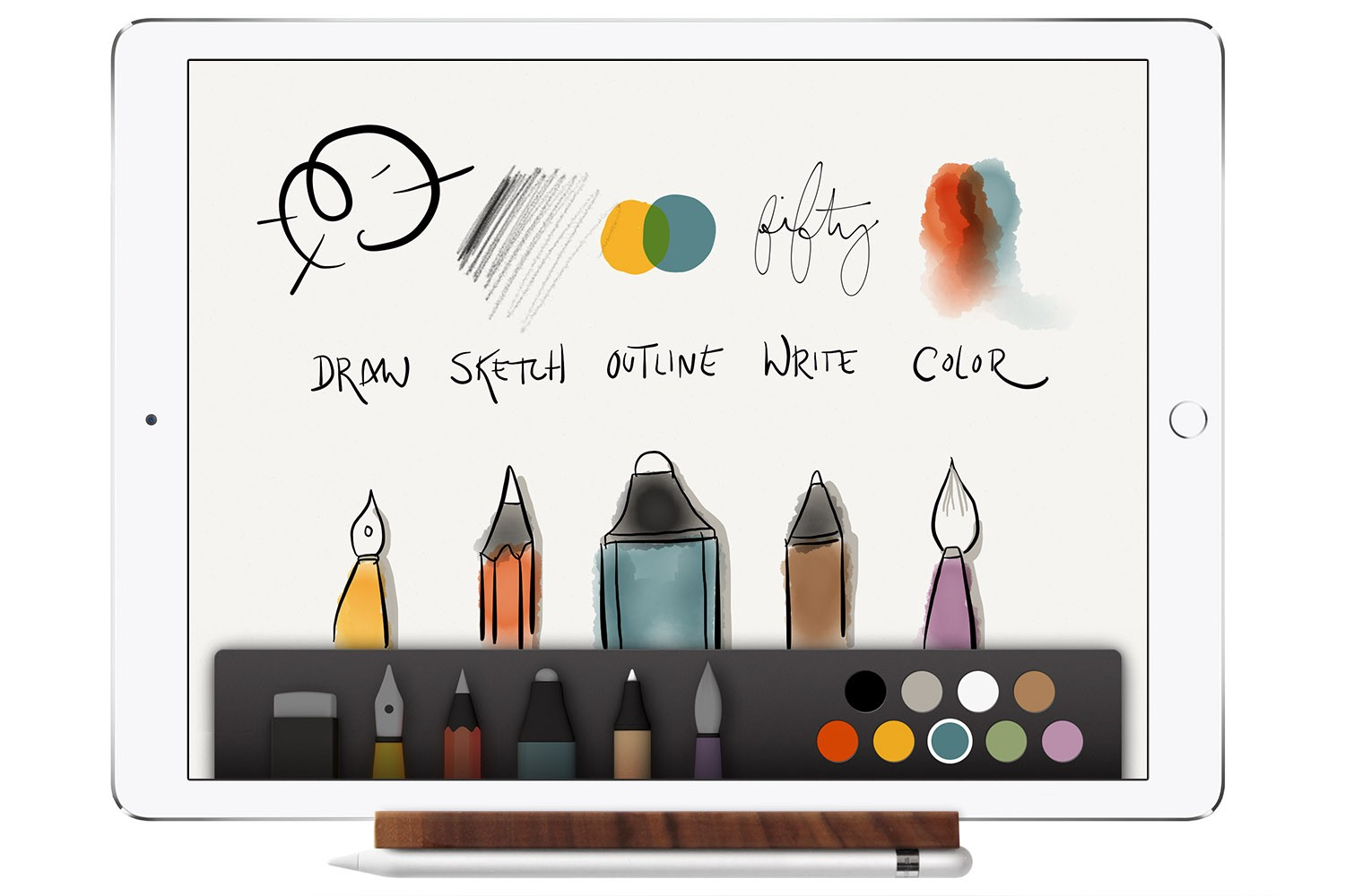 How The Ipad Apple Pencil And Paper App Change A