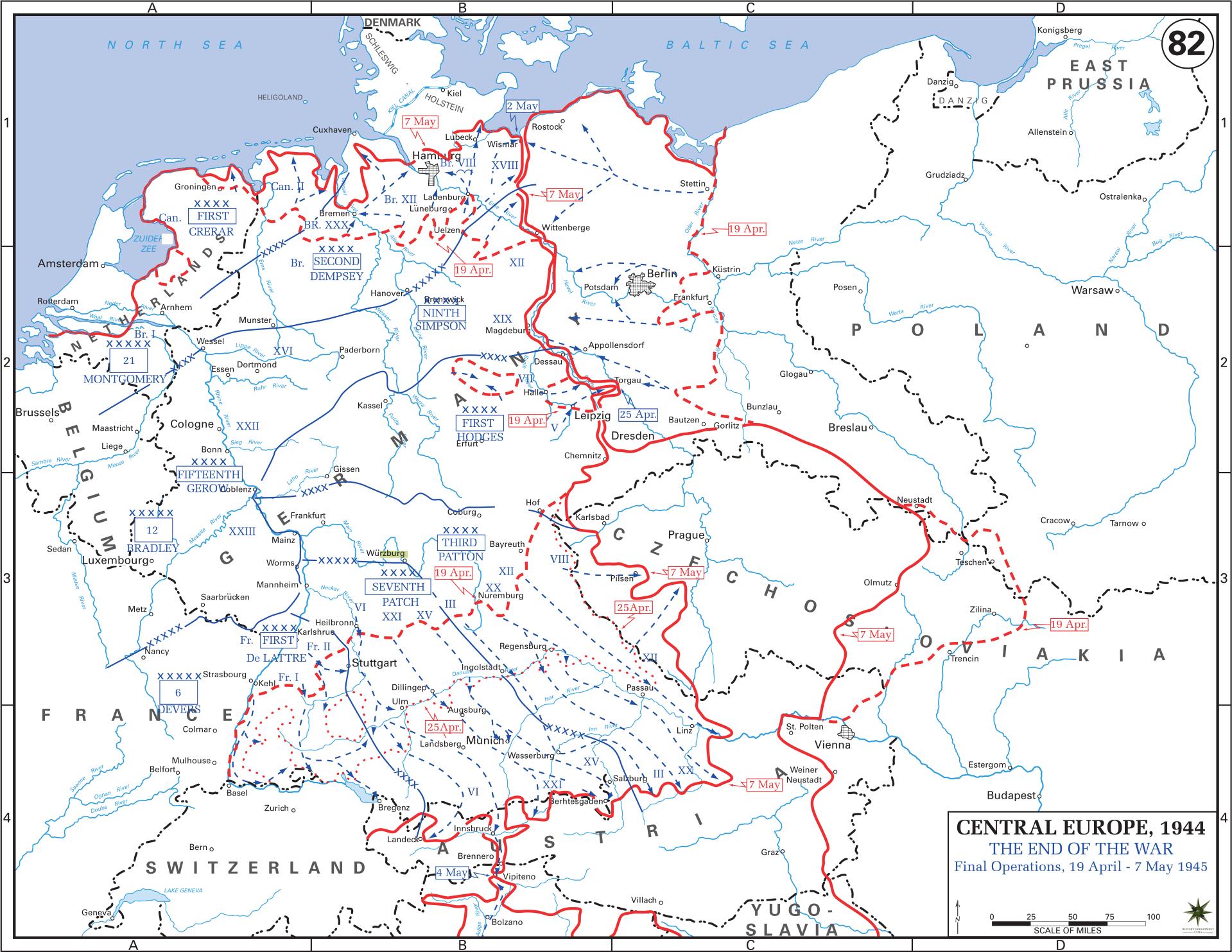 Western Front Maps Of World War Ii