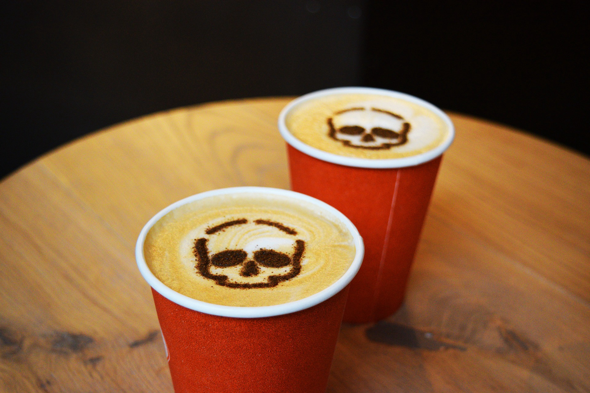 two lattes inspired by actual events