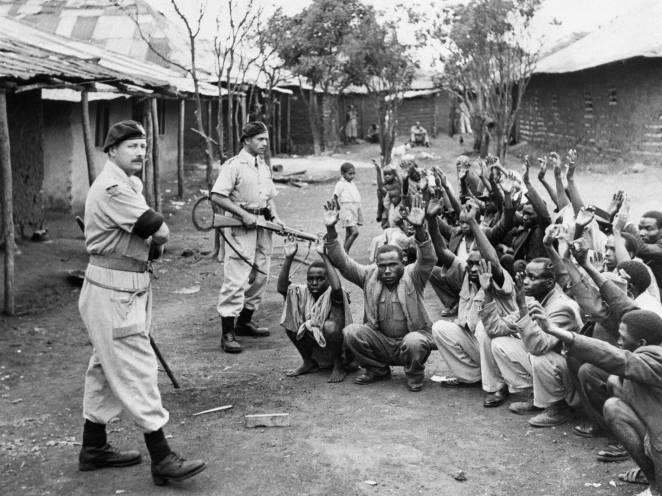 Image result for mau mau concentration camps kenya