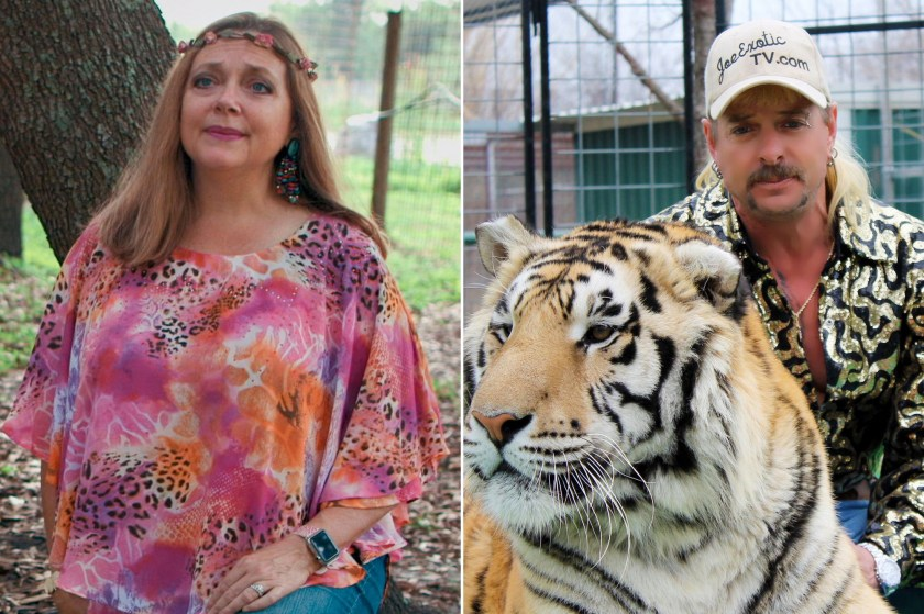 Tiger King: Carole Baskin walks the walk. Joe Exotic ran the scam. | by  Nancy Collins | Medium