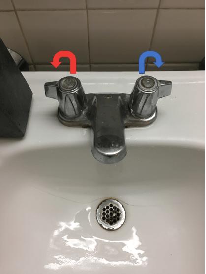 everyday ui mismatched faucet handles