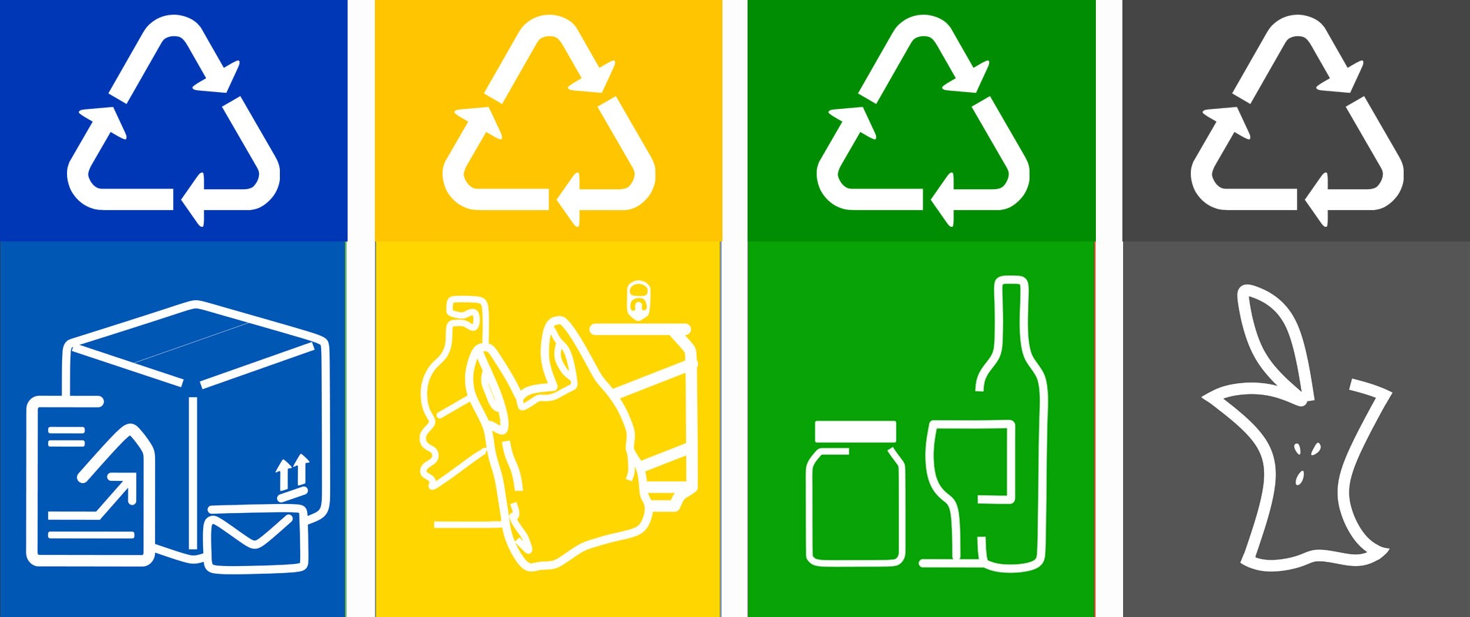 Free Printable Recycling Labels For Bins