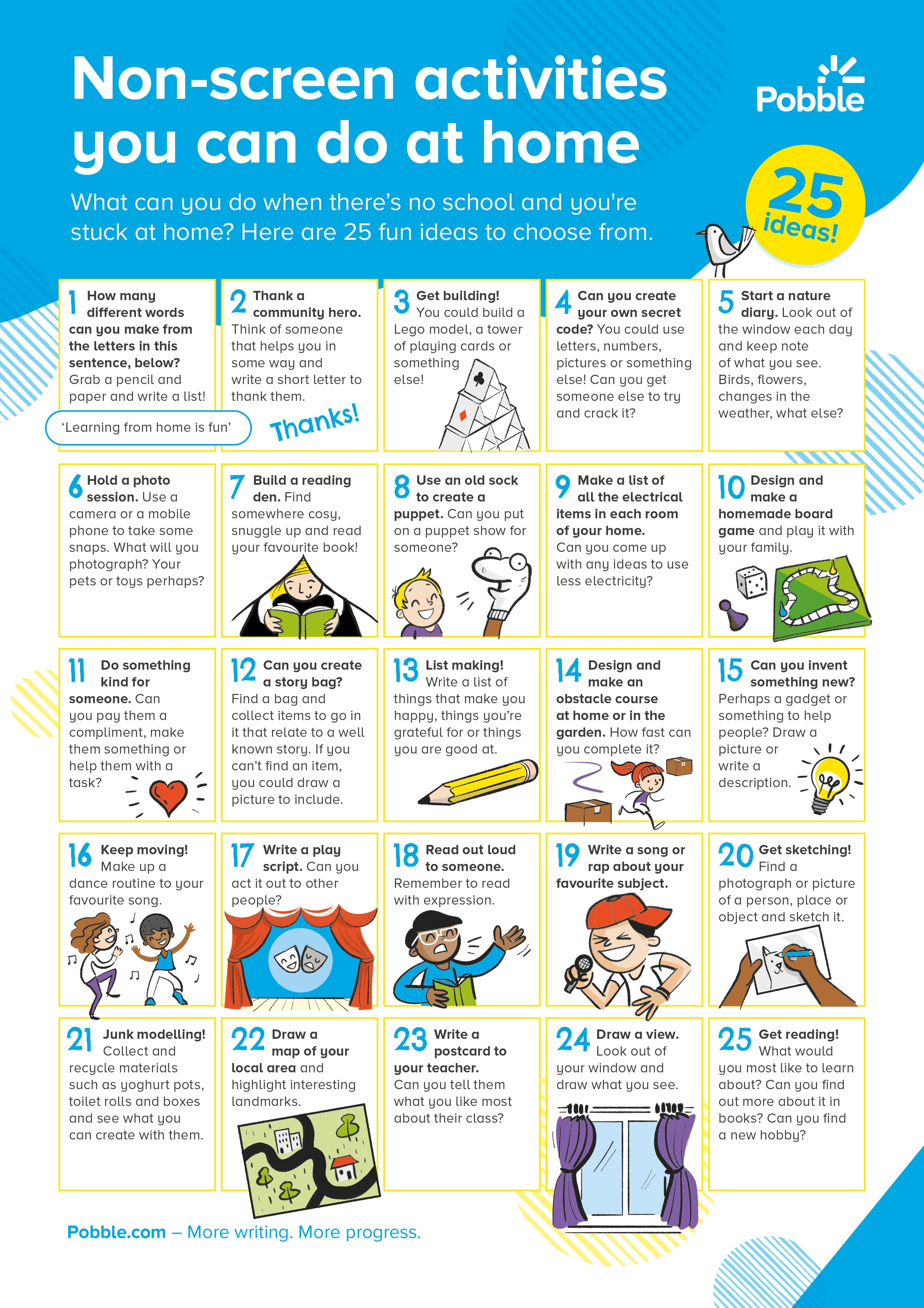25 Simple And Fun Non Screen Activities That Children Can