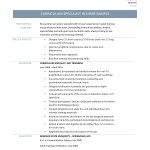 Curriculum Specialist Resume Template And Job Description By Online Resume Builders Medium