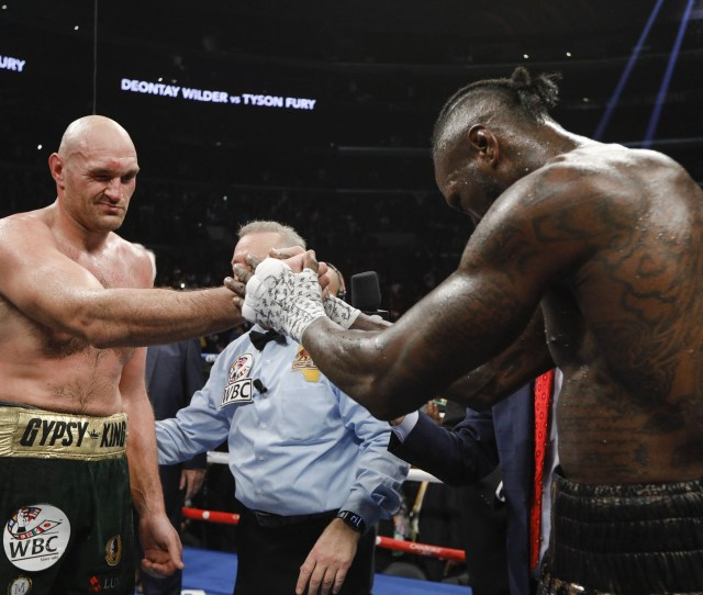 The Affirmation And Re Affirmation The Aftermath Of Wilder Vs Fury