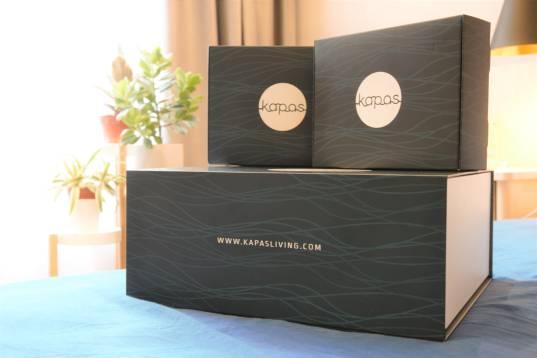Kapas bed sheet set in its packaging