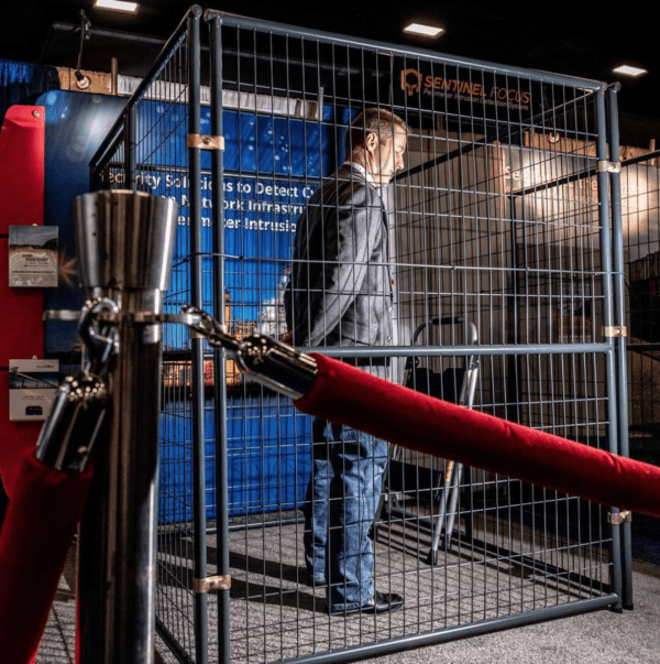 A Defining Picture of Trump's America: The Cage Vendor