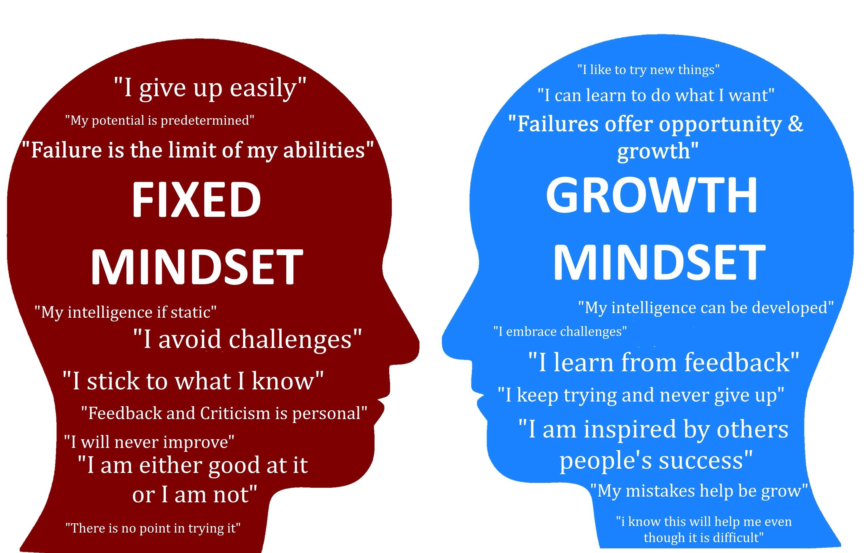 The Growth Mindset The Growth Mindset Is A Trait That Was