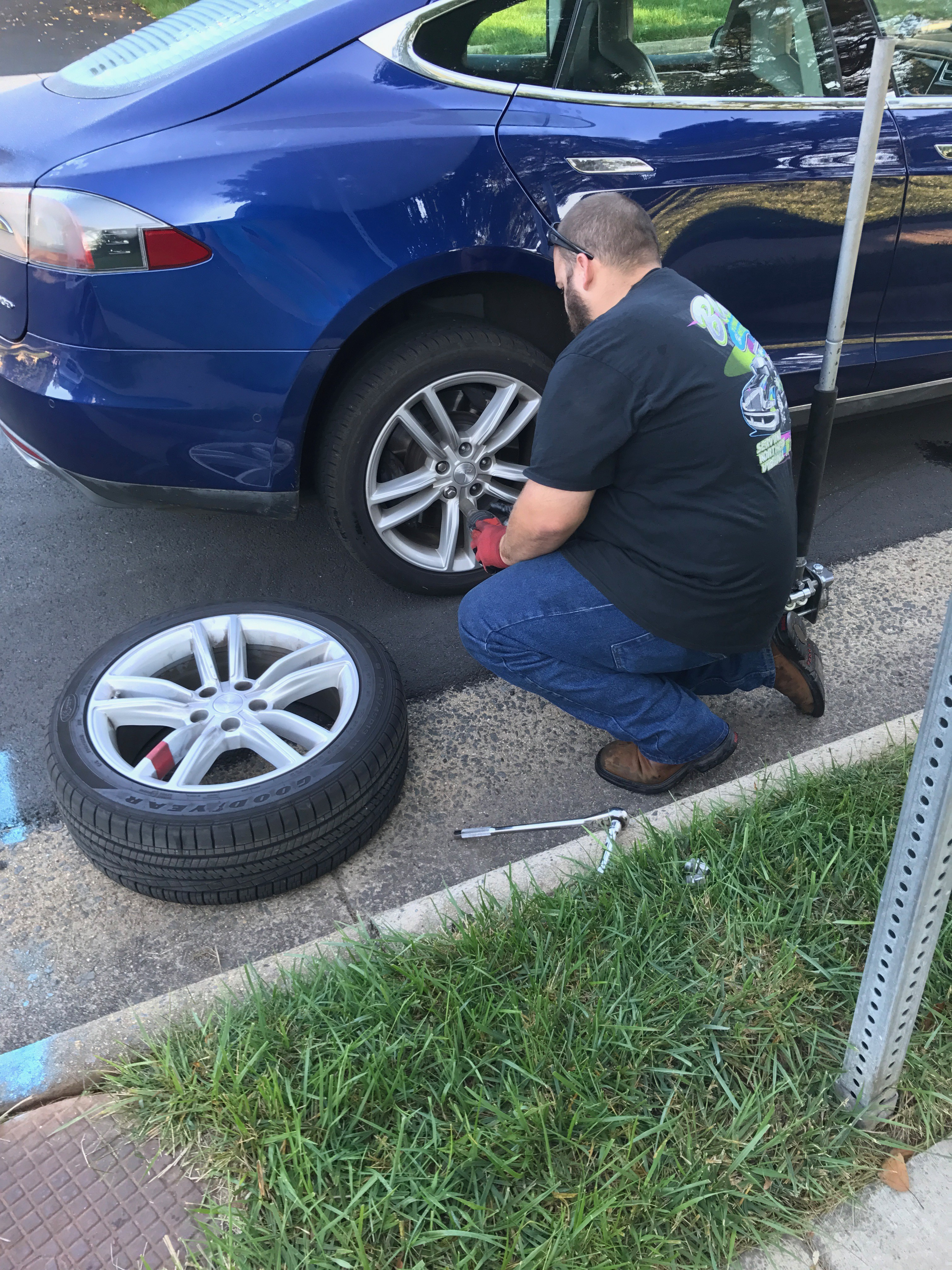 tesla model 3 winter tires diy my