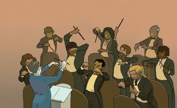 What self-management would like like in an orchestra.