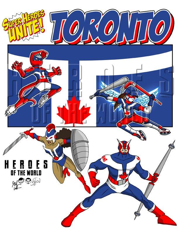 A superhero for everyone in Toronto