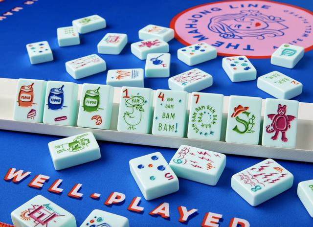 425 neon mahjong sets