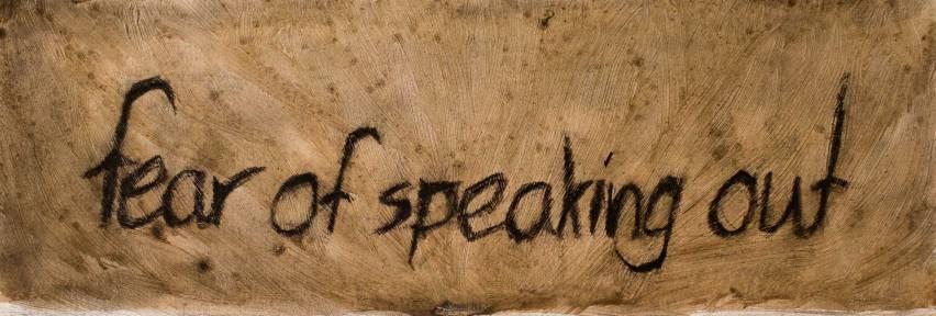Fear Of Speaking Out - Olivier Larvor - Medium
