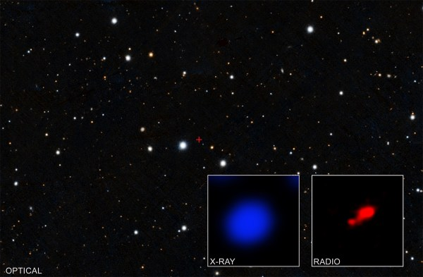 Astronomers Find A Cloaked Black Hole 500 Million Years