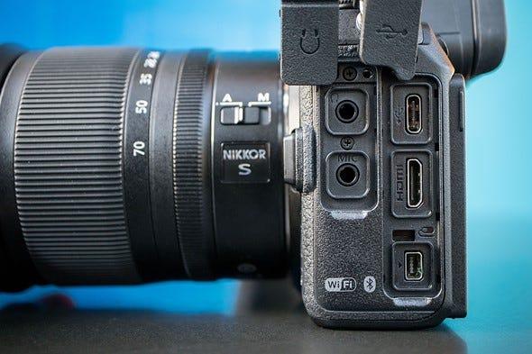Nikon Z6 Side ports