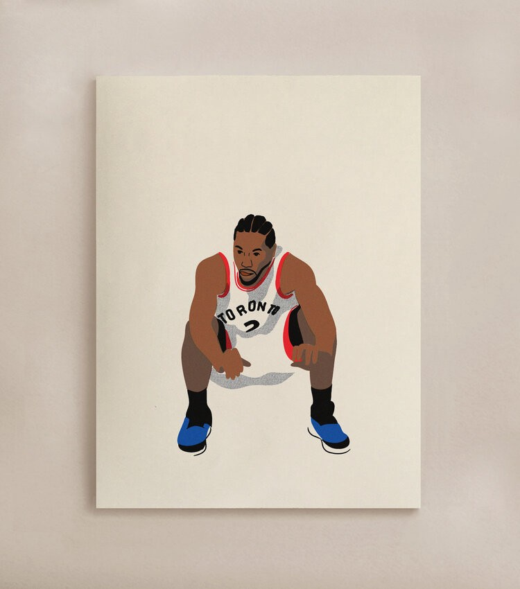 """An epic sports moment. The Wait 12""""x16"""" — $38.00 CAD"""