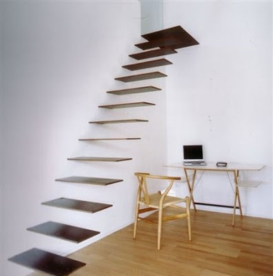 Interior Ladder Stair Design By Putra Sulung Medium   Ladder Design For Home   Decor   Space Saving   Room   Tiny House   Italian