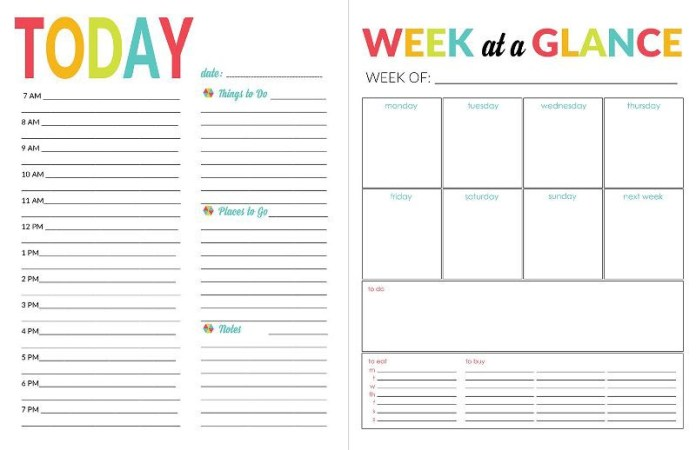 Imagini pentru personal daily planning
