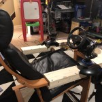 Diy Gaming Chair Build For Ps4 Driving Flight Sims By Adam R T Smith Medium