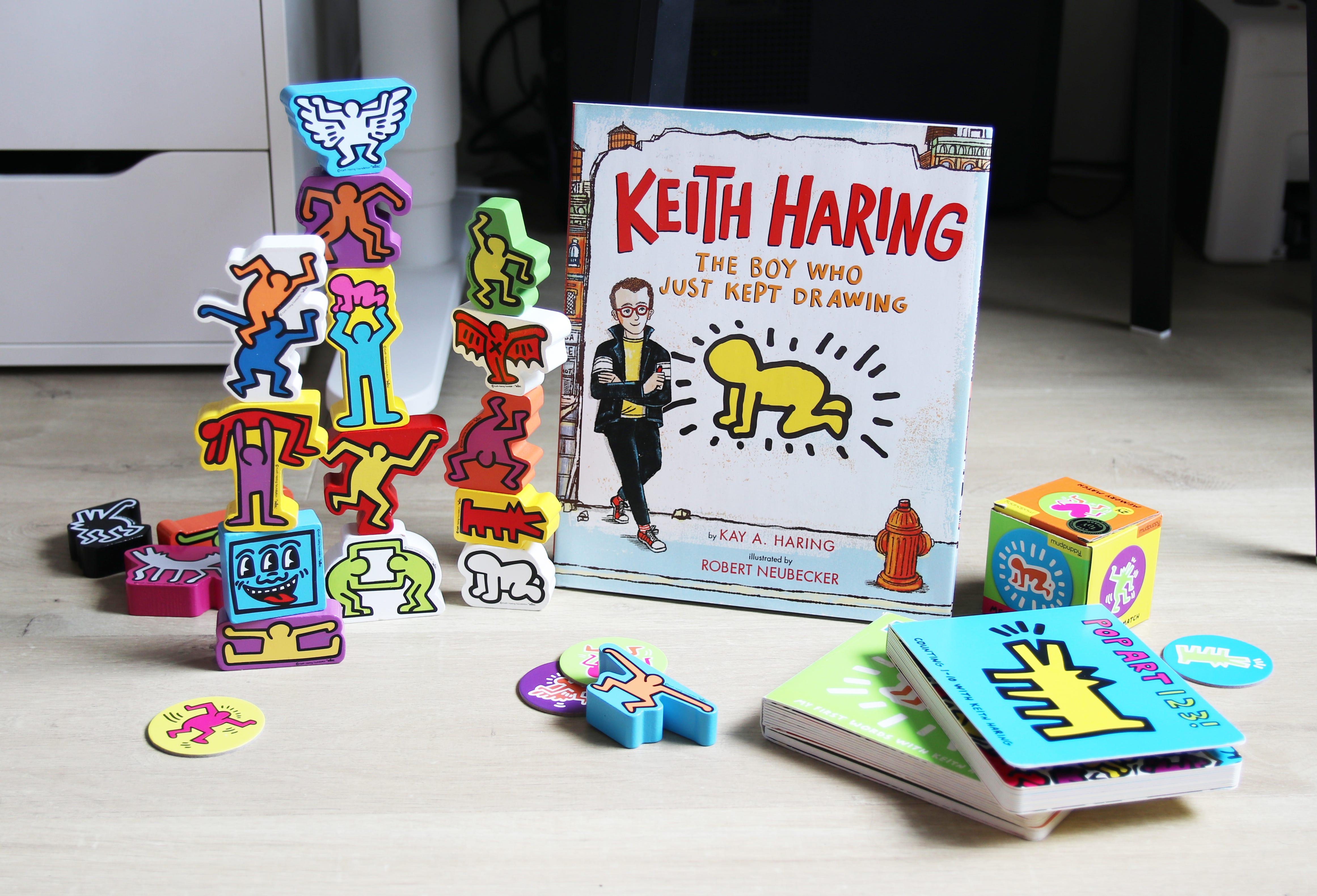 凱斯·哈林(Keith Haring)繪本與小玩物 - Banana's Retreat - Medium