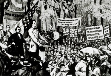 OTD in History… June 16, 1858, Abraham Lincoln delivered his House Divided  Speech on slavery