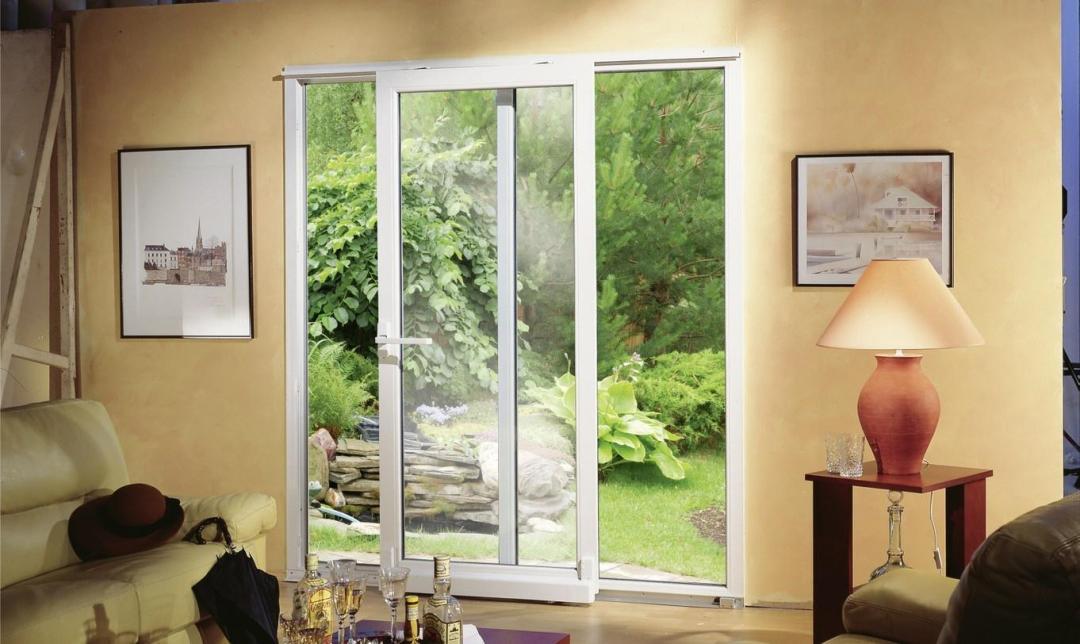 Création d'une baie vitrée par la Miroiterie Yerroise - Rénovation fenêtres Yerres - Brunoy - Montgeron / Essonne