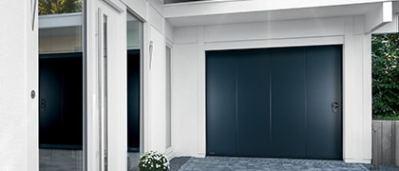 Aludoor-porte de garage - La Miroiterie Yerroise 1.