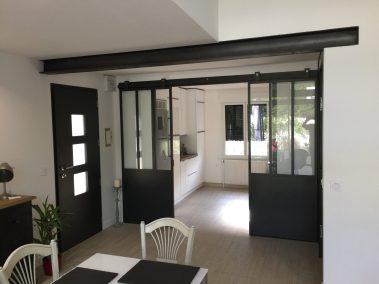 la miroiterie yerroise - renovation porte interieure - coulissante - verriere sur mesure - essonne 3