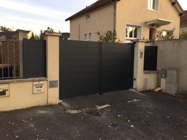 Portail et cloture - La Miroiterie Yerroise Essonne Val de Marne Seine et Marne