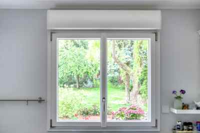 fenêtre PVC blanc