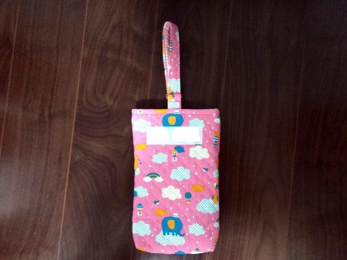 上履き入れの簡単な作り方:袋口を一周縫って完成です!