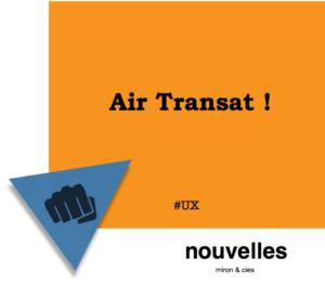 Nouveau Mandat Air Transat | miron & cies