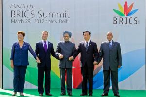 The 2014 annual BRICS Summit (Ministério das Relações Exteriores via Flickr)