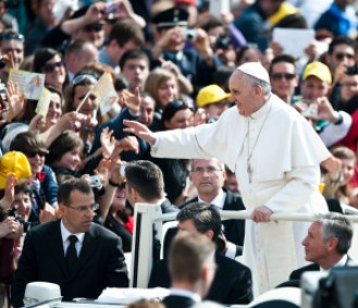 General audience with Pope Francis (via Flickr Creative Commons)