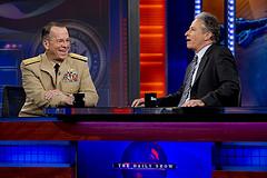 John Stewart Interviews Joint Chief of Staff Admiral Mike Mullen
