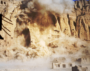 The Taliban's destruction of the Bahmiyan Buddhas