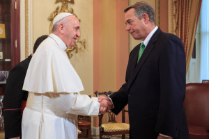 Francis and Boehner