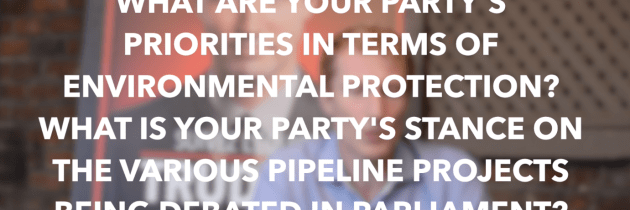 The Candidates on the Environment: Canadian Federal Elections 2015