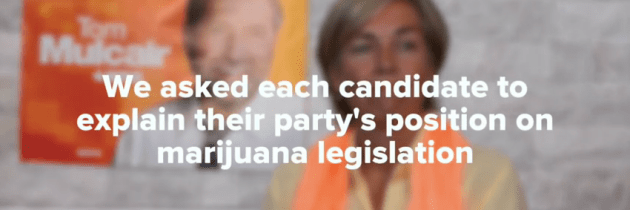 The Candidates on Marijuana Legalization: Canadian Federal Elections 2015