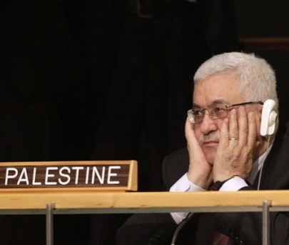 A Crossroads at the UN: Palestinian Liberation Organization President Mahmood Abbas's presidency has been strewn with violence and gridlock. Image.