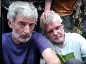 Robert Hall and John Ridsdel, two Canadians who were captured by the terrorist group Abu Sayyaf