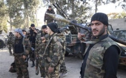 Credits: The Telegraph. The BBC states that there are upto 1,000 armed opposition groups in Syria with over 100,000 fighters