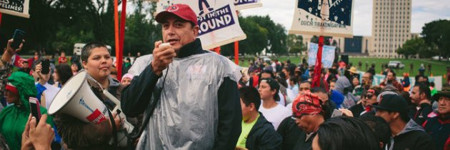 The Dakota Access Pipeline: Where Two Movements Converge