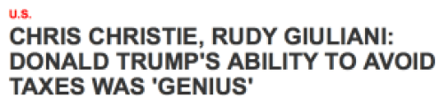 News article headline from Newsweek.