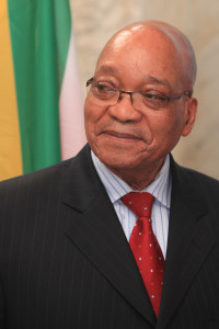 Jacob Zuma, South Africa's controversial president. https://flic.kr/p/dcaqE7